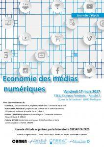 Affiche JDE Economie des médias numériques