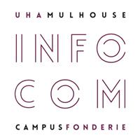 Logo du Département Information Communication de l'Université de Haute Alsace