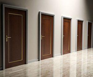 Les portes qui battent