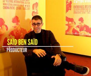 Interview de Saïd Ben Saïd, invité d'honneur