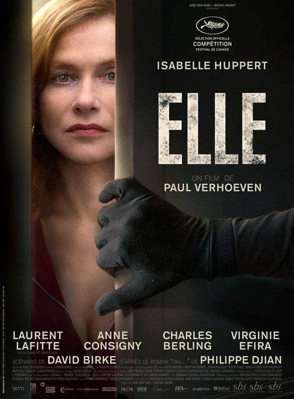 Affiche du film Elle de Paul Verhoeven