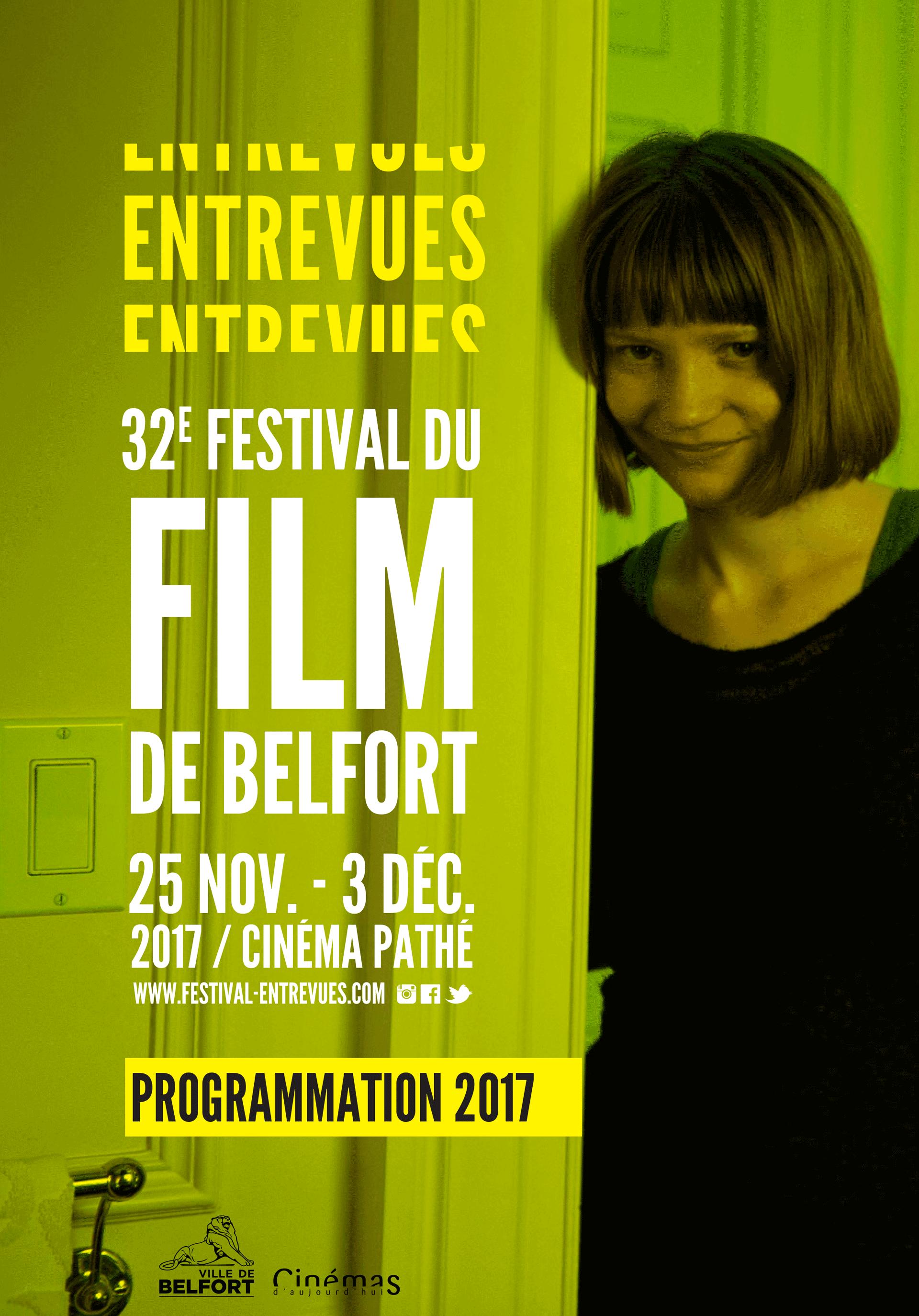 Programmation 2017 de la 32ème édition du festival du film de Belfort Entrevues