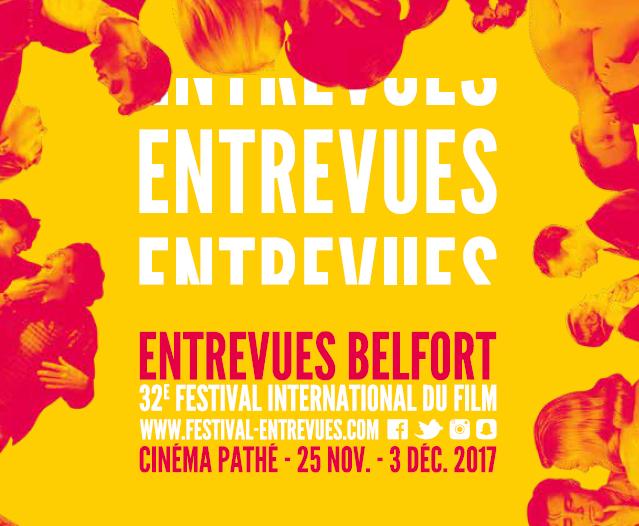 Affiche de la 32ème édition du festival international du film Entrevues Belfort.