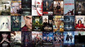 Image regroupant différentes affiches de séries TV