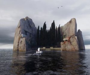 L'île des morts de Benjamin Nuel